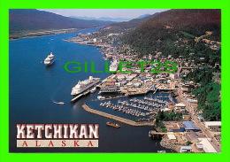 KETCHIKAN, ALASKA - CRUISE SHIPS FILL THE HARBOR - PHOTO, JOE LUMAN - ARTIC CIRCLE ENTERPRISES - - United States