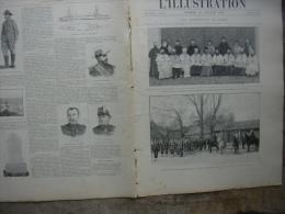 L�ILLUSTRATION 2995 CHINE/ PIQUEUR DE L�ELYSEE/ PEKING/ DIRIGEABLE/ REVUE  NAVALE  21 juillet 1900
