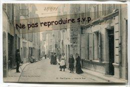 - 14 - Saillans - ( Drome ), Grande Rue, Animation, Magasin De Mode, écrite En 1915,  TBE, Scans. - Frankreich