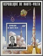 Haute-Volta, BF N° 05P** Y Et T, Bloc-feuillet 5P, Général De Gaulle - Haute-Volta (1958-1984)