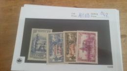 LOT 224173 TIMBRE DE COLONIE COTE IVOIRE NEUF* N�165 A 168 VALEUR 42 EUROS
