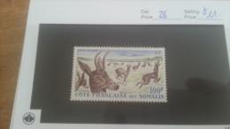 LOT 224184 TIMBRE DE COLONIE SOMALIS NEUF* N�26 VALEUR 11 EUROS