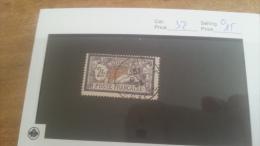 LOT 224197 TIMBRE DE COLONIE ALEXANDRIE OBLITERE N�32 VALEUR 15 EUROS