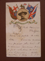 """CPA Scoutisme - Colonel Baden-Powell Defender Of Mafeking - """"Either Conquer Or Die"""" (en L'état TP Décollés) - Scouting"""