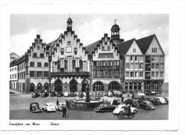 Frankfurt Am Main, Römer, Viele Oldtimer. Normalformat - Frankfurt A. Main