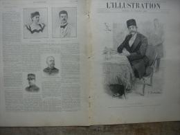 L�ILLUSTRATION 2996 CHINE/ CHAH DE PERSE/ REVUE NAVALE/ EXPOSITION  VINCENNES  28 juillet 1900