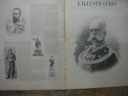 L�ILLUSTRATION 2997 ASSASSINAT ROI Italie/ CHAH DE PERSE / EXPEDITION CHINE/  COURSE AUTO PARIS TOULOUSE  4 aout 1900