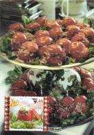 Belgium 2006 Mi. 3627 MC CM Maximum Card, Tomato Shrimps, Tomate Crevettes, Belgian Dish, Food - Ernährung