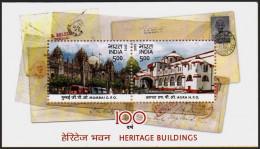 INDIA 2013 - Centenaire De La Poste Centrale De Bombay Et De Agra - BF Neufs // Mnh - Neufs
