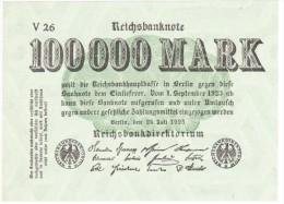 Reichsbanknote - 100 000 Mark - 25 Juillet 1923 (3) - 100000 Mark
