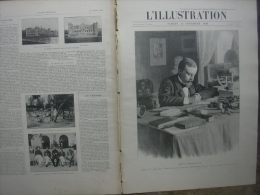 L�ILLUSTRATION N� 3017 HENRI SIENKIEWICZ/ CITE INTERDITE CHINE/ JEANNE CHAUVIN AVOCATE/ MARIAGE ESPAGNE 22 d�cembre 1900