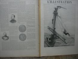 L�ILLUSTRATION N� 3018 NAUFRAGE DU GNEISENAU/ AUSTRALIE/ THETRA Fran�ais/ SEPT ILES/ PONT D�AGAY/  29 d�cembre 1900