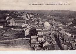 Oudon.. Belle Vue De La Ville Prise De La Tour.. L'Eglise - Oudon