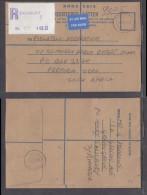Rhodesia:1979 Registered Air Cover, 32c Registration Label Franking SALISBURY 5 To Pretoria, - Rhodesia (1964-1980)