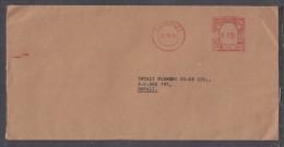 Zimbabwe: SALISBURY 23 III 81, ZIMBABWE 0-5 POSTAGE PAID Red Meter Frank On  Brown Envelope  To Umtali - Zimbabwe (1980-...)