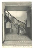 Cp, Belgique, Blégny-Trembleur, Ecole Normale Et Pensionnat, Escalier D'Entrée, écrite 1919 - Blégny