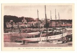 Cp, 14, Deauville, Les Bassins Des Yachts - Deauville