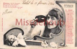 Fevrier - Carnaval  - Bergeret - 2 Scans - Bergeret