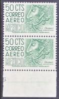 Mexico  C 220 E N X 2  **  Wmk. 300  Perf  11 - Mexico