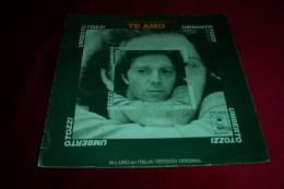UMBERTO TOZZI  ° TE AMO  CANTA EN ESPAGNOL - Vinyl Records