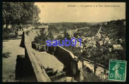 Dinan - Vue Générale Et La Tour Sainte Catherine - Poste Ferroviaire - Cachet Ambulant Dinan à Dinard -Animée Réf:31736 - Dinan