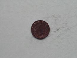 1905 - 1 Cent / KM 132.1 ( Uncleaned - Details Zie Foto´s ) ! - 1 Cent
