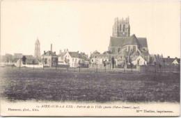 AIRE-sur-la-LYS - Entrée De La Ville (porte Notre-Dame) 1903 - Aire Sur La Lys
