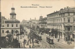 WARSCHAU WIENER BAHNHOF TRAM - Gares - Sans Trains