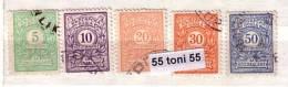 Bulgaria / Bulgarie 1919 POSTAGE DUE Portomarken / Timbres-taxe (edition- II ) 5v.-used (O) - Impuestos