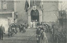 Bois-Seigneur-Issac - Cérémonie De Bénédiction Du Réverendissime Abbé - Belle Animation - 1906 ( Voir Verso ) - Braine-le-Château
