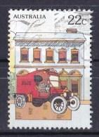 Australia 1980 National Stamp Week 22c Postal Van (Missing 'Circa 1900' From MS) Used - Gebraucht