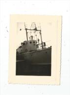 photographie , bateau , 10.5 X 8 , 1957