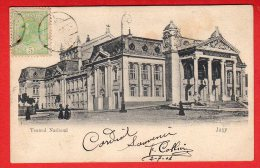 CPA: Roumanie - Jasy - Teatrul National - Roumanie