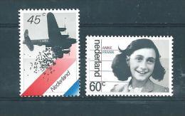 Pays Bas Timbres De 1980  N° 1129 Et 1130  Neuf * - Period 1949-1980 (Juliana)