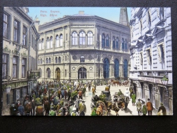 Old Post Card From Latvia Riga Borse Granbergs Brefkort - Letland