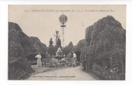 1371  -  Chenillé Changé  -  Le Jardin Du Château Des Rues - Francia