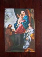 SANTINO - LA MADONNA CON S.FRANCESCO E S.CRISTINA - FAENZA - - Religion &  Esoterik