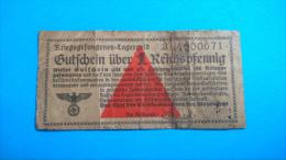 Billet De Camps- 1 Reichspfenning - [ 4] 1933-1945 : Troisième Reich