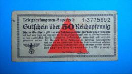 Billet De Camps- 50 Reichspfenning - Non Classés