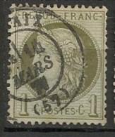 Timbres - France - 1871-1875 - Cérès - 1 C. - N° 50 -