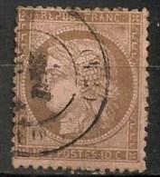 Timbres - France - 1871-1875 - Cérès - 10 C. - N° 54 -