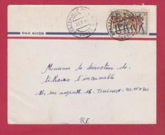 Congo  //  Enveloppe    //  De Brazzaville   //  Pour Toulouse  // 27/9/66 - Used