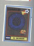 EL SALVADOR. .PANINI  ESPANA 82....FOOTBALL..TRADING CARDS..FIGURINE. ..CALCIO - Panini
