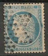 Timbres - France - 1871-1875 - Cérès - 25 C. - N° 60 -
