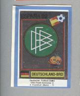 GERMANIA..SCUDETTO..PANINI  ESPANA 82....FOOTBALL..TRADING CARDS..FIGURINE. ..CALCIO - Panini