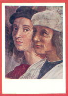 151982 / Italy Art Raphael (Raffaello Sanzio Of Urbino) - ITEM FRESCO / The School Of Athens / Raphael , Sodoma - Pittura & Quadri