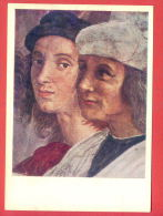 151983 / Italy Art Raphael (Raffaello Sanzio Of Urbino) - ITEM FRESCO / The School Of Athens / Raphael , Sodoma - Pittura & Quadri