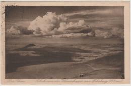 Cartolina - Deutsches Reich - 1922 - 25+25 - Die Rhon, Wasserkuppe - Viaggiata Da Wustensachsen Per Berlin - Covers & Documents