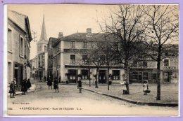 42 - ANDREZIEUX -- Rue De L'Eglise - Andrézieux-Bouthéon