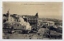 Alg�rie--ALGER-- La Mosqu�e et le Palais Consulaire (anim�e) n�312 Collec Id�ale P.S